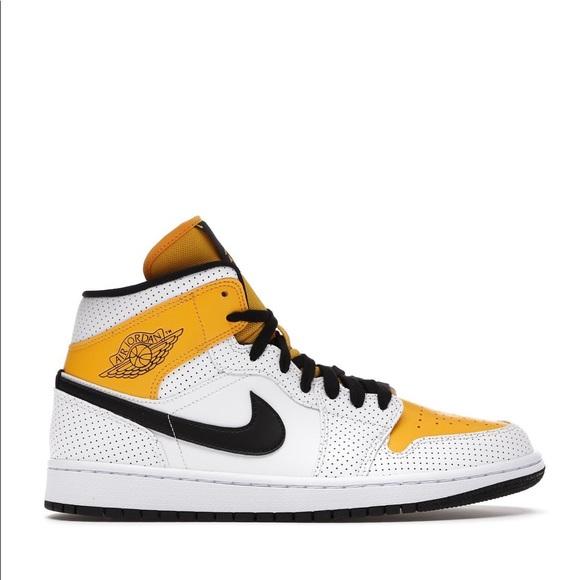 "🏵*NEW* Air Jordan 1 Mid ""Laser Orange"" (Sz 8)"
